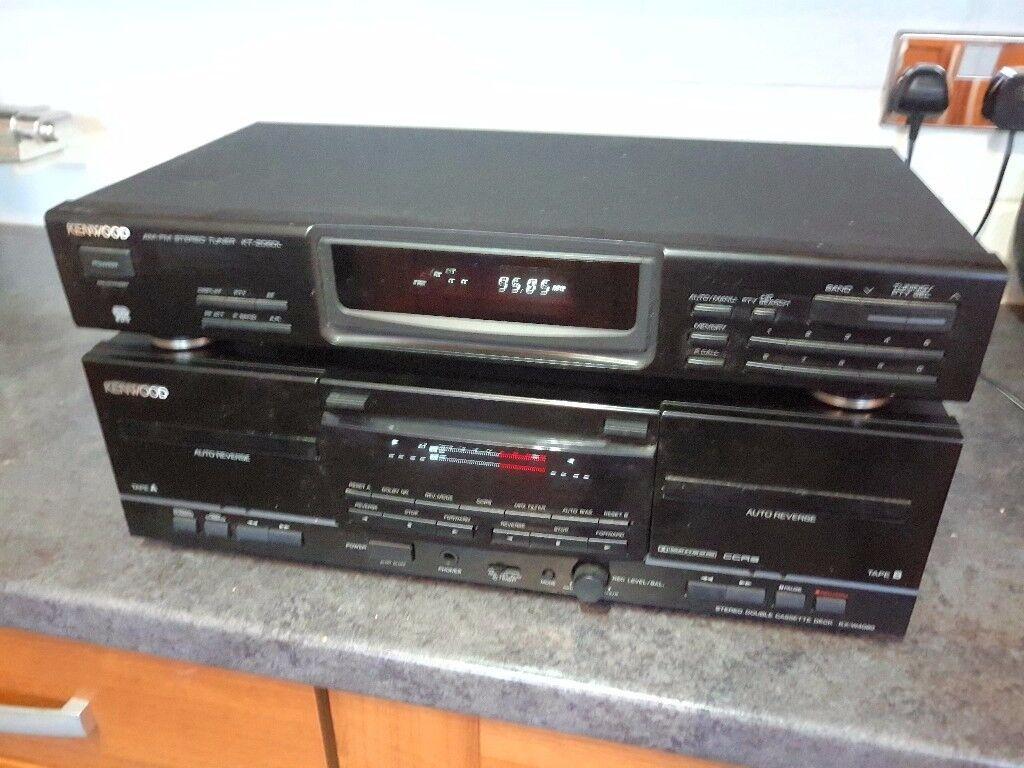Kenwood tuner KT2060L plus Double casette deck KX-W4080