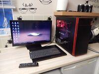 i7 desktop computer plus moto 360 smart watch