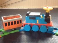 Thomas ride-on train & track set - battery powered