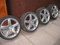 MOMO GTR ALLOY WHEELS TO FIT FORD