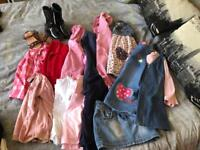 Girls 3-5 year bundle and size 9 shoes