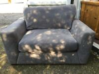 Cuddle chair (excuse the sunlight on pics)
