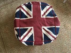Union Jack bean bag