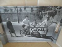 Strong Tray with picture of Italian Scene (presumably) - £6
