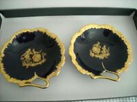 Pair of Limoges Couple Dish