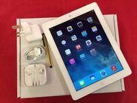 Apple iPad 3 64GB WiFi + Cellular, UNLOCKED, White Silver, WARRANTY. NO OFFERS