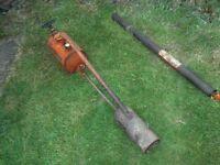 2x vintage flame guns for weeds
