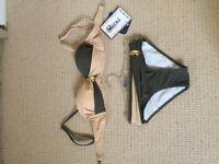 Woman push up bikini set