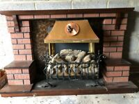 Plug in Electric Fire with Surround