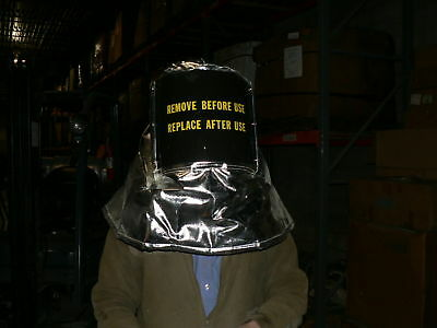 Aluminized Firemans Hood Crash Rescue W Hard Hat