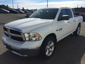 2015 Ram 1500 SLT, LOW KM. ,5.7 HEMI, POWER GROUP, AC, BLUE TOOT
