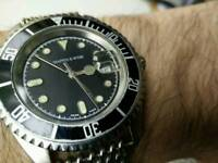 Mappin and Webb vintage divers watch