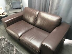 Two & One seat leather Sofa Glasgow Bishopbriggs