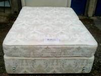 RELYON double bed with matress and headboard