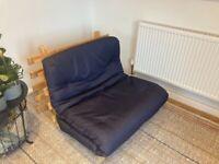 Navy Blue Futon Sofa Bed