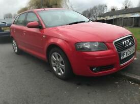 Audi A3 2.0 TDI - 2005 - MOT&TAX- drives like new - not golf megane focus civic Bmw seat leon skoda