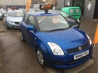 Suzuki Swift, 1.3,vtti, full mot and 6 months extendable warranty