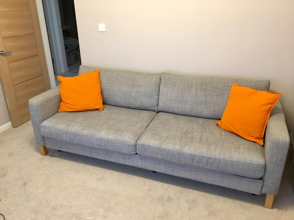 Hardly Used Ikea Karlstad Sofa Bed In New Malden London Gumtree