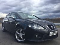 2007 SEAT LEON FR 2.0 TDI 170 BHP WITH FULL SERVICE HISTORY+2 OWNERS