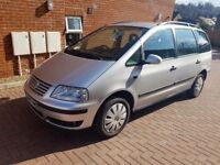 57 VW SHARAN 1.9 TDI ,AUTO,7 SEATER, HPI CLEAR GOOD ENGINE AND GEARBOX,