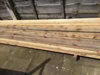 Timber 6x2 and 5x2 new unused