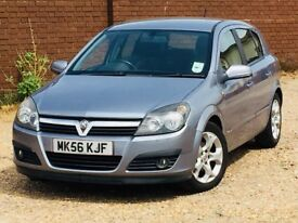 2006 VAUXHALL ASTRA 1.6 SXI*86,000 MILES*1 PREV KEEPER*11 SERVICE STAMPS*MOT TILL MAY2019*FOCUS*CLIO