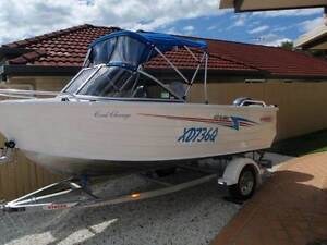 Stacer 429 Seaway and Stacer Trailer - Health issues force sale Victoria Point Redland Area Preview