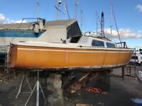 Jaguar 22 sloop with lifting keel (project)