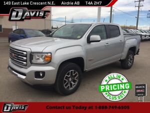 2017 GMC Canyon SLE ALL-TERRAIN PKG, HTD SEATS, BOSE AUDIO