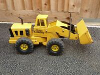 Vintage 1970s Yellow 'TONKA' Mighty Loader. One Owner Since New! Hours of Fun in the Garden