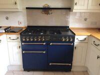 Rangemaster 110 Leisure gas cooker - blue