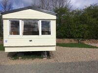 Willerby Herald Static Caravan . Fully sited at Lochlands Leisure Park , Forfar . Only £7995.00