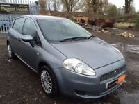 2009 Fiat Grand Punto 1.4 Petrol **Full Ser Hist*MOT JULY 2018**Electric Windows & Mirrors*New Tyres