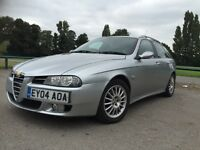 £750 ! 76500 MILES! ALFA ROMEO 156 SW 1.9 M-JET 16V 2004 FACELIFT!SERVICED!6 SPEED!FULL SERV STAMPS