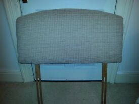 SINGLE SIZE HEADBOARD FULLY UPHOLSTERED GOOD CONDITION