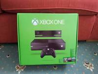 Xbox one original microsoft empty box perfect condition new pack package packaging console carry