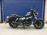 2014 KEEWAY SUPERLIGHT 125 CUSTOM CRUISER , HPI CLEAR , 6 MONTHS MOT, SERVICE HISTORY