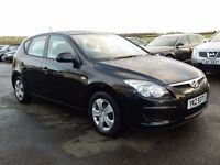 2010 hyundai I30 1.6 diesel, low miles, full history,motd until april 2017 all cards welcome