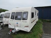 Bailey Unicorn Almeria 4 bert fixed bed tourer 2009