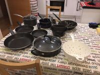 Cookware set (not induction)