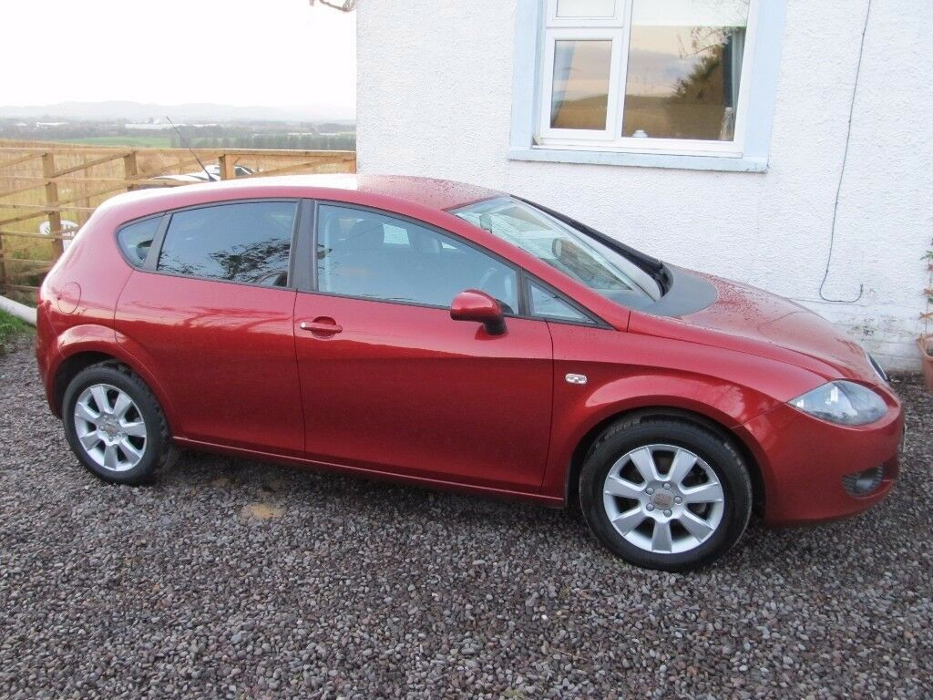 seat leon 1.9 tdi low milage full service history really nice all round car