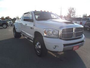 2007 Dodge Ram 3500 Laramie,DIESEL,MEGA,DUALLY,4X4,LEATHER!!