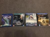 Blue ray DVD's