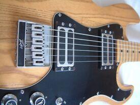 Peavey T-60 electric guitar - USA - '78-'79 - Natural - Ground-breaking guitar