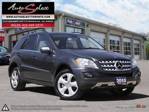2010 Mercedes-Benz M-Class DIESEL ML350 4MATIC **BLUETEC** ON...