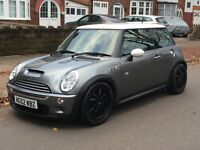 MINI COOPER S 2003 FULL SERVICE HISTORY PLUS FEW EXTRAS WORTH 1000+ ON IT VERY QUICK JCW REPLICA