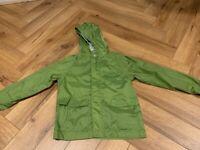 Child's Green Raincoat Aged 5-6 years