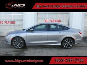 2015 Chrysler 200 S  Sport V6 Leather Sunroof