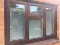 UPVC Brown Window