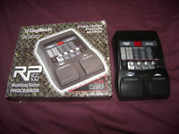 DigiTech RP155 / RP-155 Guitar Multi-Effect Processor with 100 Presets and 60 Drum Patterns.